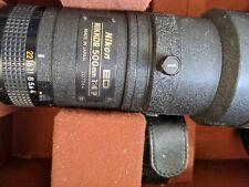 Nikon nikkor 500mm F/4 P Lens