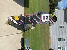 Vintage burton air snowboard black multicolor - collector item