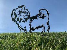 More details for shih tzu dog rusty metal animal garden art