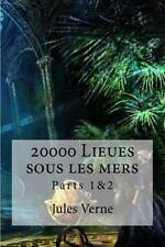 20000 Lieues Sous les Mers Parts 1&2 by Jules Verne (2016, Paperback)