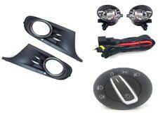 Nebelscheinwerfer + Gitter + Lichtschalter + Kabelbaum für VW Golf VI