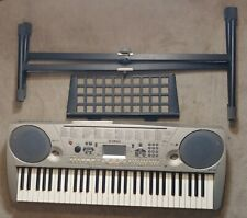 Yamaha Ez-30 61-Key Piano Keyboard With Music Rest, Stand, and Wall Adapter
