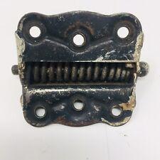"""Vintage Antique Spring Loaded Cast Iron Door Hinge Metal Old Hardware Parts 3.5"""""""