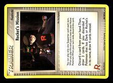 POKEMON ROCKET RETURNS UNCO N° 88/109 ROCKET's MISSION