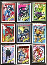 1990 MARVEL UNIVERSE SERIES 1 COMPLETE SET 1-162 AND 4 HOLOGRAMS NM #ns16-391