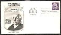US Sc # 1285 Einstein FDC . Fleetwood Cachet