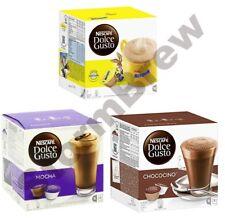 DOLCE GUSTO HOT CHOCOLATE PACK: NESQUIK, CHOCOCINO, MOCHA