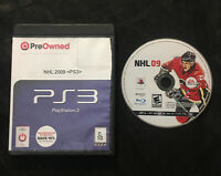 NHL 09 — Cleaned/Tested! Fast Free Shipping! (PlayStation 3, ps3, 2008)