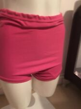 Vintage Schoolgirl Gym Knickers, Netball Panties Briefs Pink Large
