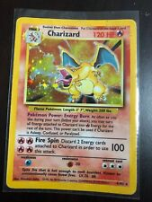 CHARIZARD 1999 Original Pokemon Card Base Rare Holo Mint Condition