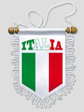 FANION VOITURE ITALIE ITALIA - 13 X 15 CM - BLASON ECUSSON FOOTBALL