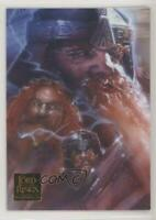 2006 Topps Lord of the Rings Masterpieces #4 Portraits Gimli Non-Sports Card 5f7
