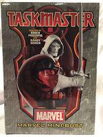 Rare 2005 Collectible Marvel Comics Taskmaster  Bowen Mini Bust 2201 of 3000 NIB