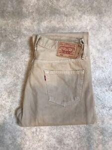 Jean Levis 501 Vintage Taille Haute W36 L36 Taille 46