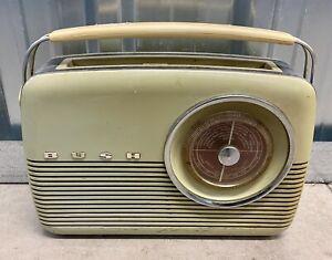 Bush Vintage Original 1960's TR82 MW/LW Portable Radio Receiver Untested