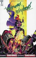TRANSFORMERS VS.VISIONARIES #1 IDW COMICS 2018 BAGGED AND BOARDED