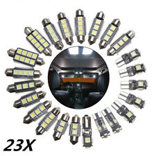 23x White LED Car Interior Dome Lamp Ceiling Light Kit for BMW X5 E53 2000-2006