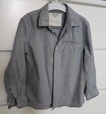 Camicia in cotone grigia Mango Kids 4/5 anni