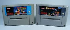 Starwing y Magical Quest Mickey para Super Nintendo B-Ware-SNES juego módulos