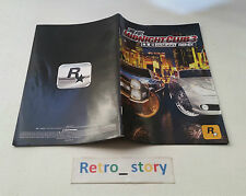 PS2 Midnight Club 3 DUB Edition Remix Notice / Instruction Manual