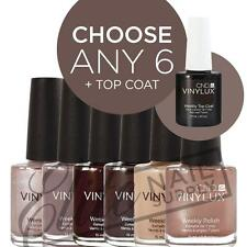 CND VINYLUX Weekly Polish 15ml - Any 6 Colours + Top Coat
