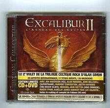 CD+DVD (NEW) EXCALIBUR II L'ANNEAU DES CELTES (ALAN SIMON)J.ANDERSON A.PARSONS