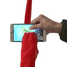 Creative Red Silk Thru Phone by Close-Up Street Magician Trick Show Prop Tools