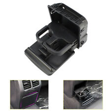 Black Rear Armrest Central Console Cup Holder for VW Jetta MK5 Golf MK6 GTI EOS