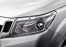 Genuine Nissan Navara NP300 Headlamp Head Light Cover Protector Set 2015 Onwards