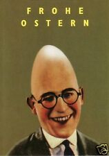 "Postkarte, Osterkarte, ""Froher Eierkopf"""