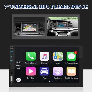 "7"" Touch Screen Universal HD AUX/Bluetooth Apple Carplay Module Car MP5 Player"