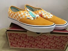 Vans Skate Shoes Trainers Comfycush Checker Size UK 9.5 BNIB