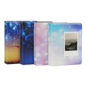 64 Pockets 3 Inch Photo Book Album Fujifilm Instax Mini Films 9 8 7s 90 70 25