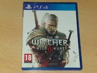 The Witcher III 3 Wild Hunt PS4 Playstation 4 With Soundtrack CD**FREE UK POST**
