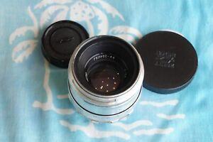 Helios-44 58мм f/2 lens for M39 Zenit WHITE! 13 BLADES