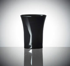 100 x Black Polystyrene Shot Glasses CE 25ml | Plastic Shots [505520217768]
