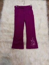 Girls Spandex Pants Size 7/8 95%Cotton,5%Cotton Color Purple