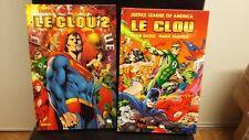 JLA Justice League Of Justice - LE CLOU Tomes 1 et 2 en Francais de PANINI  TBE