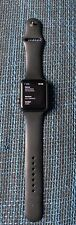 Apple Watch Series 3 42mm Aluminiumgehäuse Space Grau Sportarmband Schwarz (GPS)