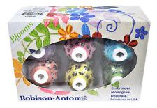 Robison-Anton Rayon Mini King 6 Spola Regalo Confezione - Fioriti