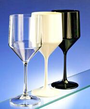 AIOS Premium Unbreakable Reusable Modern Design Plastic Wine Glasses 450ml