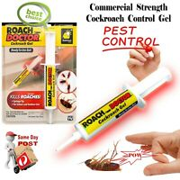 ROACH DOCTOR PEST CONTROL COCKROACH GEL BAIT SYRINGE TIP INDOOR OUTDOOR USE