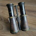 NAMED WW1 BRITISH OFFICER BINOCULARS WWI MILITARY BRITISH  ARMY FIELD GLASSES