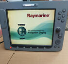 Raymarine E120 Boat Gps Chartplotter Radar Sonar Multifunction Display Mfd