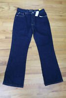 EXPRESS - WOMEN'S DARK WASH FLARE LEG JEANS - SIZE 9/10 SHORT - NEW WITH TAGS