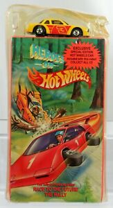 Heroes on Hot Wheels Race to The Future The Rally VHS w/Buick Stocker #9258 1991