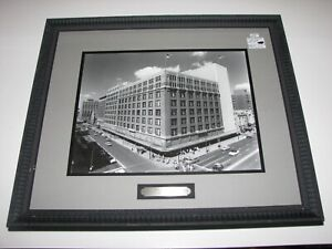 Vintage 1950's William Preston Mayfield Dayton Ohio Rikes Building Framed Photo
