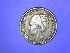 Curacao - 1/4 Gulden - 1944 D - KM# 44 - 0.6400 Silver