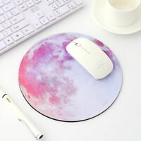 New Round Galaxy Mouse Pad Computer Accessory For Laptop Computer PC Gaming