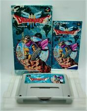 Genuine Dragon Quest III 3 Video Game for Nintendo Super Famicom JAPANESE BOXED
